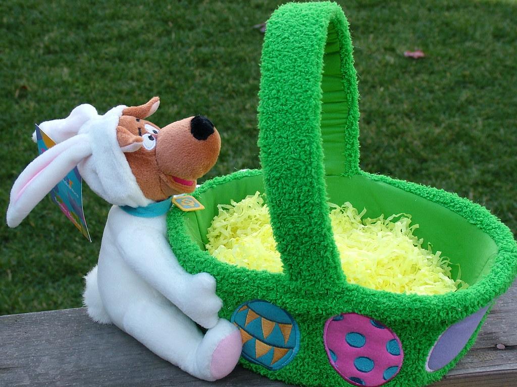Scooby Doo Warner Bros Store Easter Basket 2001 Easter B Flickr