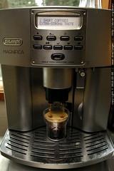 espresso machine is three years old
