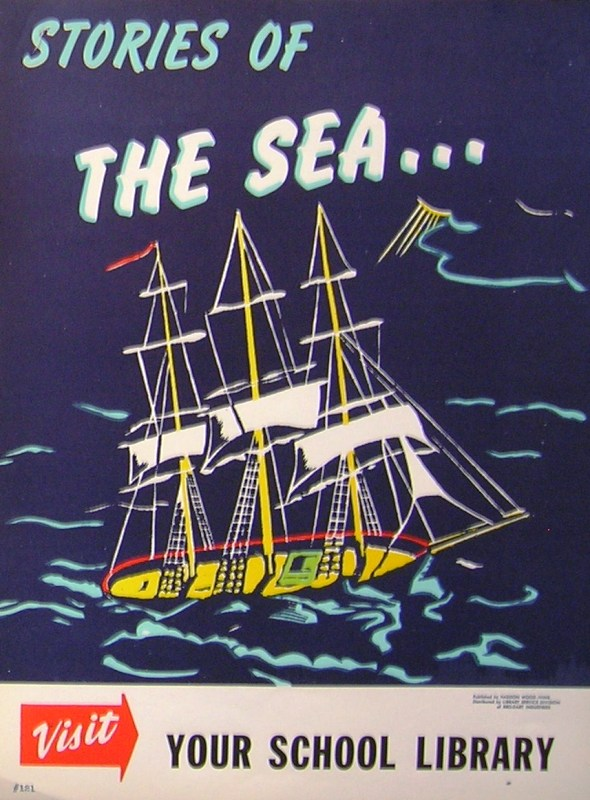RETRO POSTER - Stories of the Sea