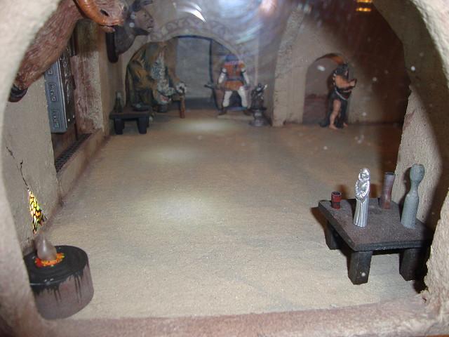 Jabba's Palace Diorama   Flickr - Photo Sharing! Jabba The Hutt
