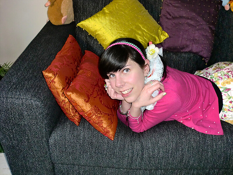Cam-whoring on the Couch