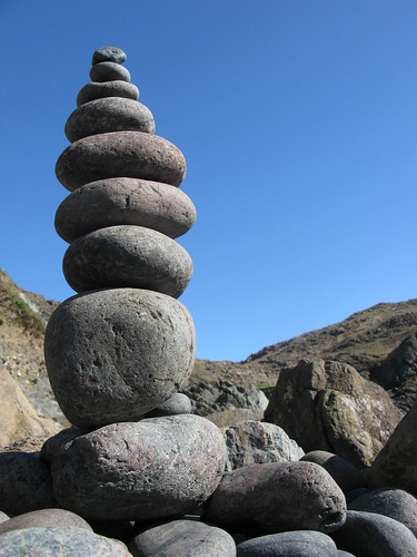 kynance pebble tower