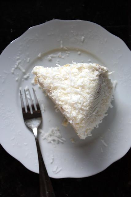 Southern Coconut Cake slice
