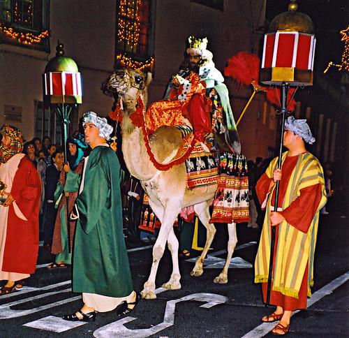 Los Reyes parade, Garachico