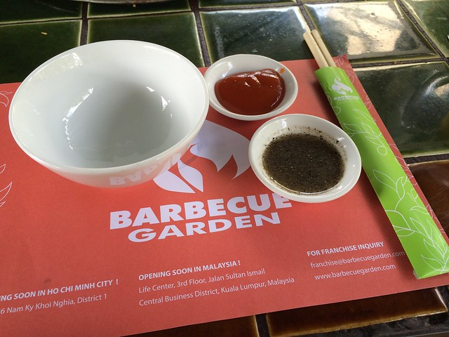 Place setting - Barbecue Garden