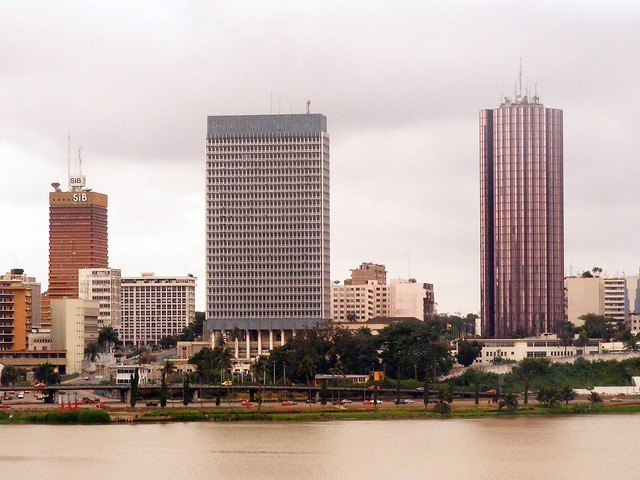 Plateau, vue depuis l'hôtel Ivoire