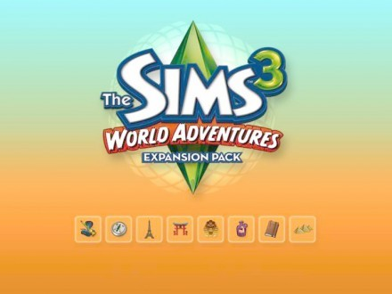 news sims 3 world adventures boot screen and desktop icons worldsims community