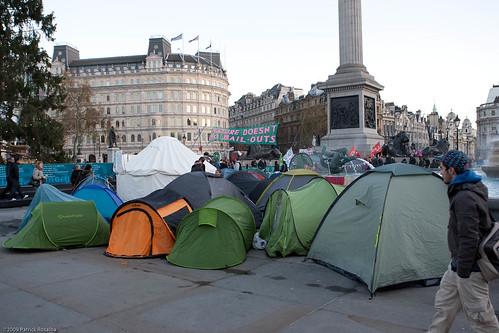 Climate Camp, London