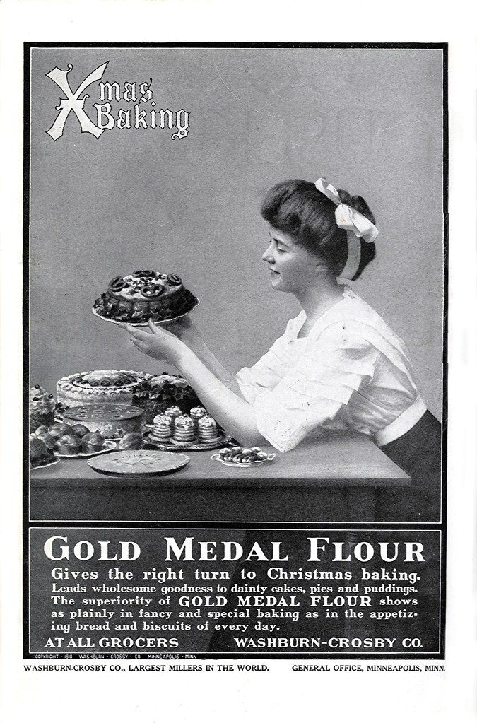 1910 Christmas Baking - Gold Medal Flour