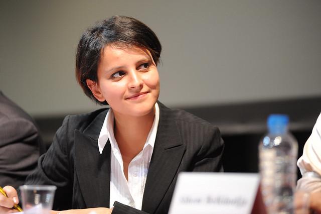 Najat Vallaud-Belkacem lors de l'Université sur l'Euro-Méditerranée