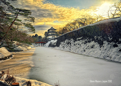 Hirosaki Castle Japan. © Glenn Waters. Over 33,500 visits to this photo.  Thank you.