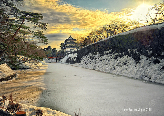 Hirosaki Castle Japan. © Glenn Waters 30,700 visits to this photo.  Thank you.
