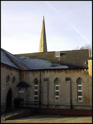 Trinity Arts Centre from Sandsfield Lane