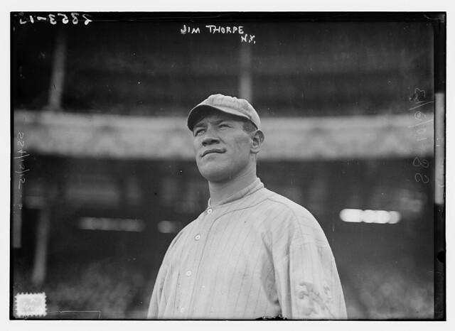 [Jim Thorpe, New York NL, at Polo Grounds, NY (baseball)] (LOC)