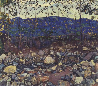 Hodler, Ferdinand (1853-1918) - 1904 Forest Brook at Leissingen (Kunsthaus, Zurich, Switzerland)