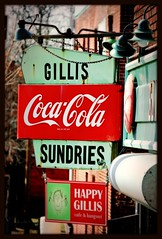 Gillis Sundries sign