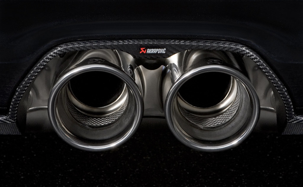 Akrapovic exhaust system for Porsche 911 GT3/RS (997 FL)