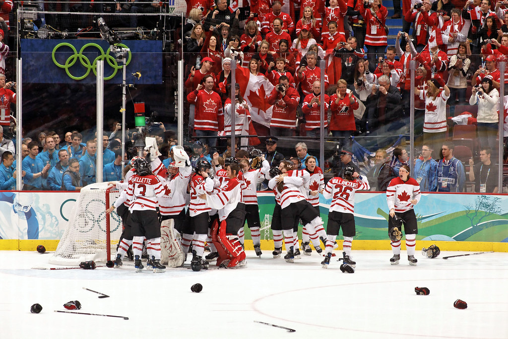 Image result for Great Britain vs United States Women's Hockey
