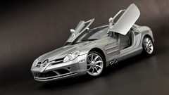race car, model car, automobile, wheel, vehicle, performance car, automotive design, mercedes-benz, mercedes-benz slr mclaren, scale model, land vehicle, luxury vehicle, supercar, sports car,