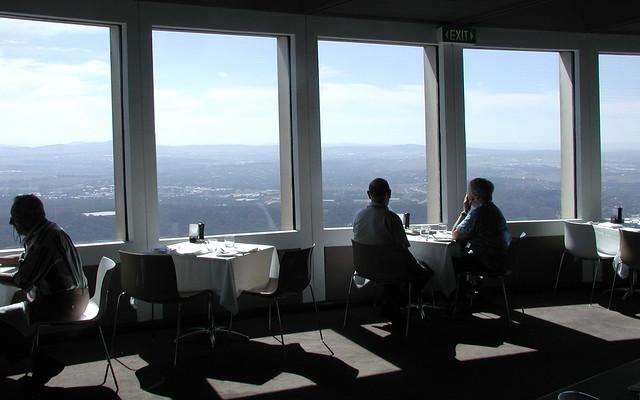 Telstra Tower Restaurant Menu