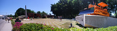 Armored Train monument panorama | Monumento al tren blindado