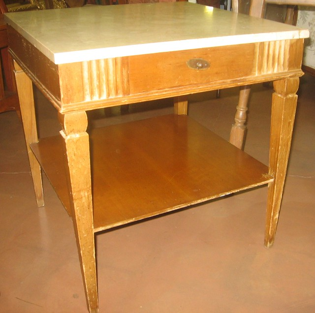 Marble Table Top Dining Room Set