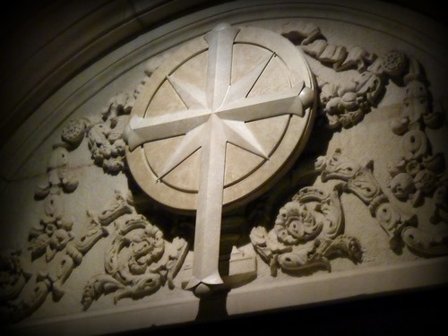 Scientology Cross on the Founding Church of Scientology, Washington, D.C.