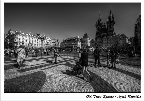 Olt Town Square - Czech Republic