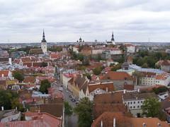 Widok z kościoła św. Olafa