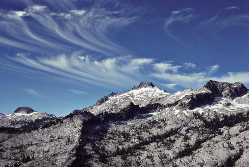 The Trinity Alps: Sawtooth Mountain