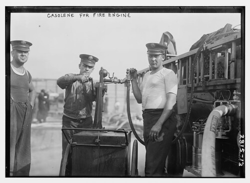 Gasoline for fire engine  (LOC)