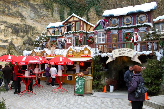 Christmas Market - Cave Entrance