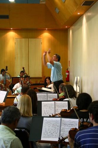 Ensaio da Orquestra Sinfônica de Minas Gerais