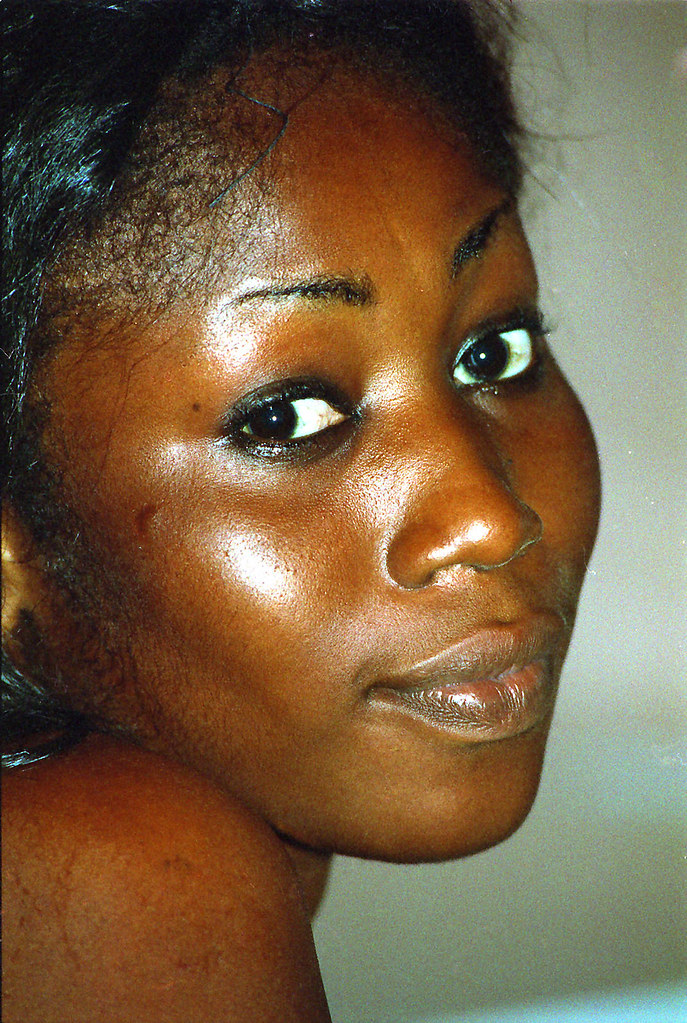 Ghanaian West African Beautiful Natural Lady In Accra -1519