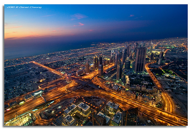 View from The Top - The Veins of Dubai
