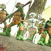 GET THAT FUGITOID :: TMNT protect their brainy, metallic friend..