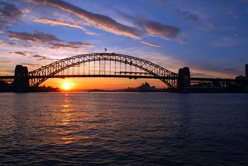 morning bridge sunrise view harbour sydney australia icon nsw colourful iconic sydneyharbourbridge mygearandmepremium mygearandmebronze mygearandmesilver mygearandmegold mygearandmeplatinum mygearandmediamond