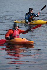 canoe sprint(0.0), sea kayak(0.0), vehicle(1.0), kayak(1.0), boating(1.0), extreme sport(1.0), kayaking(1.0), whitewater kayaking(1.0), watercraft(1.0), canoeing(1.0), boat(1.0), paddle(1.0),