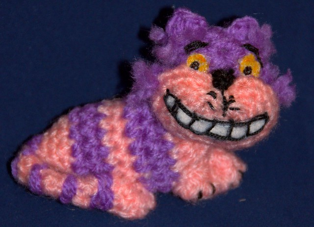 Cheshire Cat Amigurumi : Gato de Cheshire amigurumi Flickr - Photo Sharing!