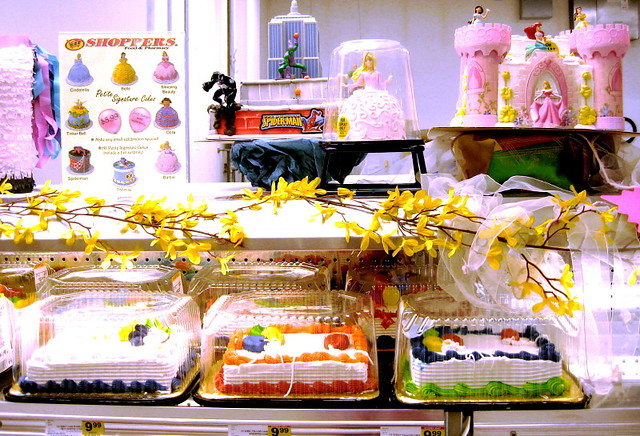 Shoppers Food Warehouse Cakes