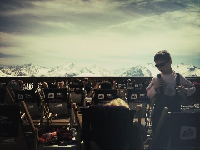 J'adore les terrasses d'altitude