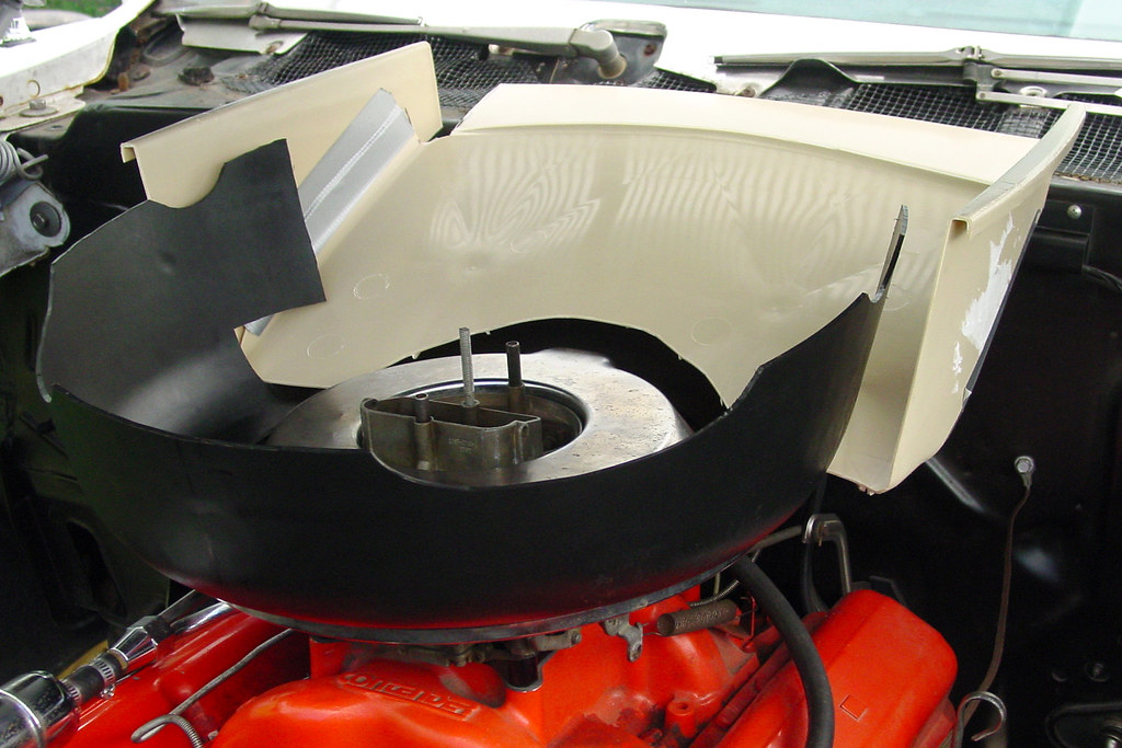 Cowl Induction Pan : Poor man s cowl induction chevy message forum
