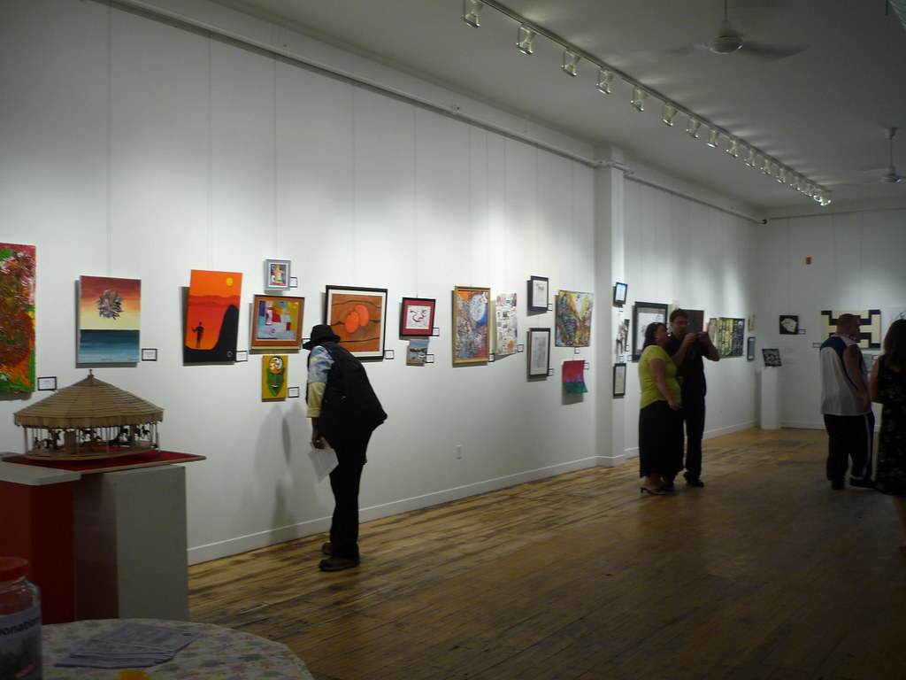 My Sisters' Place art show