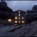 Rifugio Pedrotti by Night by TomisTaken