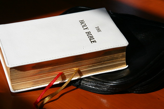 The Bible, so loved and cherished by Sister Lucia