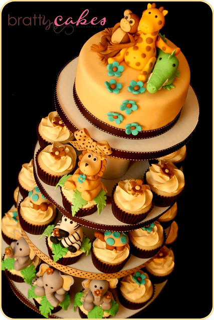 baby shower cakes safari baby shower cake ideas