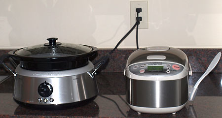 Slow Cooker and Rice Cooker