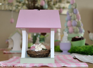 Pretty bird house