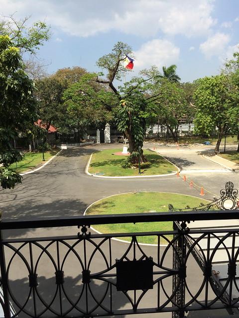 Malacanan Palace balcony