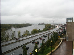 Rivers of Water and Cars